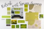Refresh with spring greenery